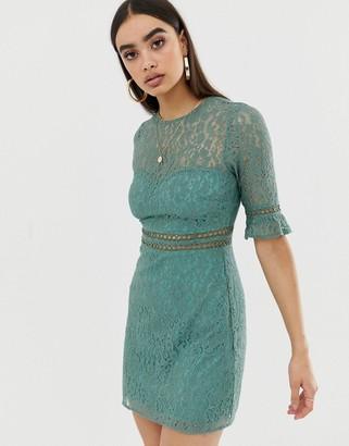 Fashion Union lace mini dress