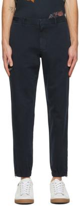 Paul Smith Navy Twill Cargo Trousers