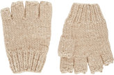 The Elder Statesman Women's Knit Fingerless Gloves