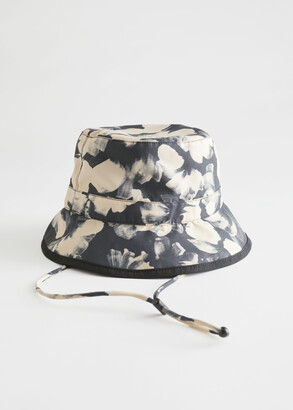 And other stories Reversible Printed Bucket Hat
