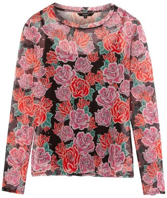 Desigual Carmin Flowers T Shirt