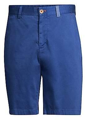 Robert Graham Men's Pioneer Cotton Twill Shorts