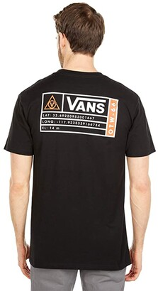 Vans 66 Supply II Short Sleeve Tee (Black) Men's Clothing