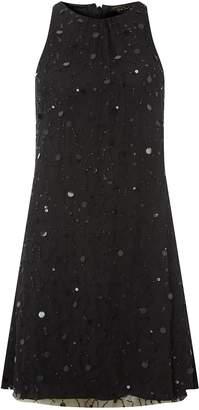 Dorothy Perkins Womens **Showcase Black Trapeze Dress, Black