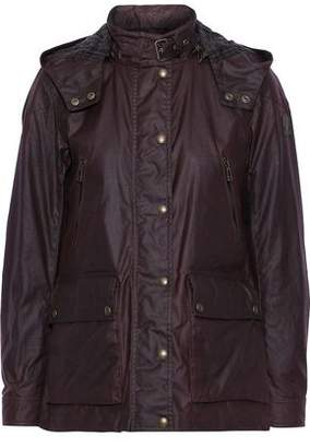 Belstaff New Tourmaster 2.0 Waxed-cotton Hooded Jacket