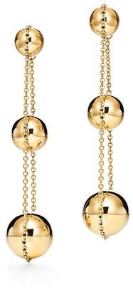 Tiffany & Co. City HardWear triple drop earrings in 18k gold