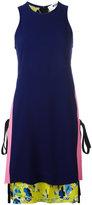 MSGM layered tank dress - women - Acetate/Viscose - 42