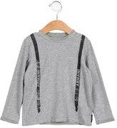 Armani Junior Boys' Printed Long Sleeve Shirt