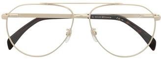 David Beckham Aviator Frame Glasses