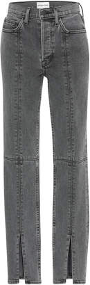 Cotton Citizen Vickie High-Rise Split-Leg Jeans