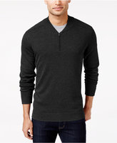 Alfani Men's Regular Fit Baseball-Collar Sweater, Only at Macy's