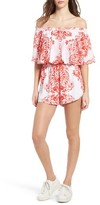 Show Me Your Mumu Women's Rosarita Off The Shoulder Romper