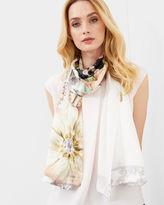 Ted Baker Gem Gardens silk scarf