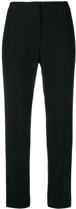 Alexander McQueen Cropped Straight Leg Trousers