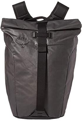 Osprey Transporter Roll Top Pack (Black) Backpack Bags