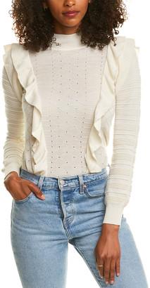 Madeleine Thompson Kandil Cashmere & Silk-Blend Sweater