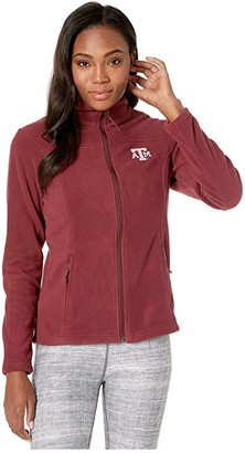 Columbia College Texas AM Aggies CLG Give and Gotm II Full Zip Fleece Jacket