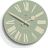 Newgate Clocks - Time Clock - Estate Green - 50cm dia