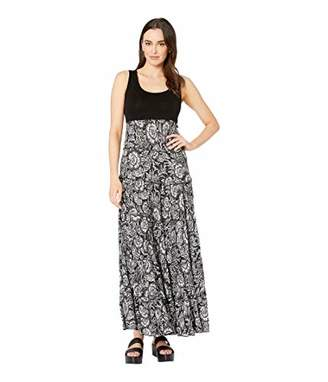 Karen Kane Women's Tiered Maxi Dress