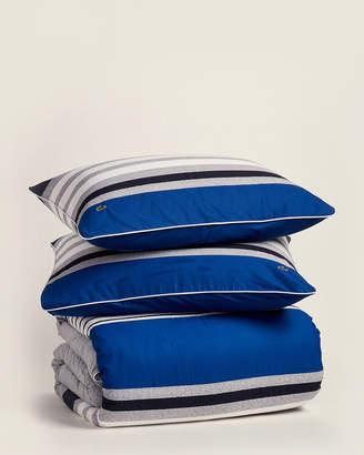 Lacoste Blue Auckland Comforter Set