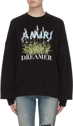 Amiri 'Flower Dreamer' graphic print sweatshirt