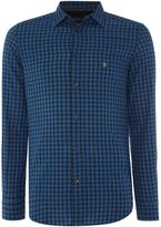 Diesel Men's Regular fit long sleeve gingham check shirt