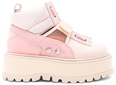 Fenty by Puma Strap Sneaker Boot in Pink. - size 7.5 (also in 8.5,9.5)