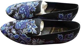 Louis Leeman Blue Cloth Flats
