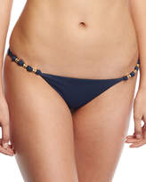 Vix Midnight Paula Solid Swim Bottom, Blue