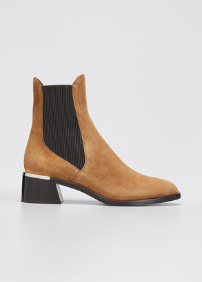 Jimmy Choo Rourke Suede Ankle Booties