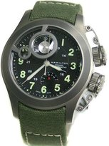 Hamilton Men's Khaki Navy Frogman watch #H77746933