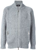 DSQUARED2 zip-up knit cardigan