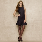 Ralph Lauren Blue Label Ruffled-Hem Dress