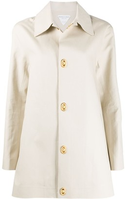 Bottega Veneta Cotton Jacket With Detachable Back