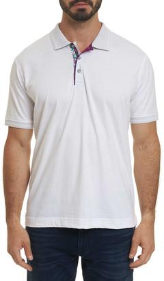 Robert Graham Men's Short Sleeve Westan Polo Shirt