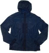 Stone Island Hooded Jacket - Nylon Metal Indigo