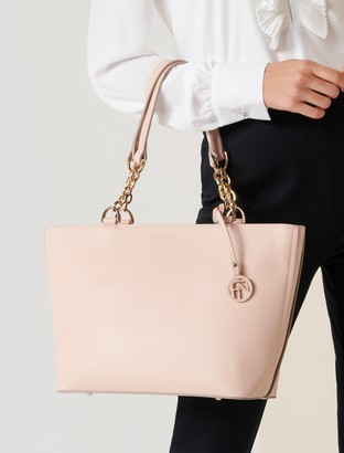 Forever New Nadia Chain Handle Tote Bag - Blush - 00