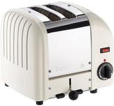 Dualit Classic Toaster - Canvas White - 2 Slot