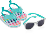 Carter's Striped Sunglasses and Sandals Set - Baby Girls 3m-12m