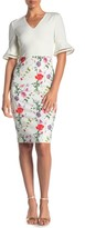 Ted Baker Hedgerow Floral Print Bodycon Dress