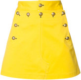 Maison Margiela metallic embellished skirt - women - Cotton/Spandex/Elastane - 38