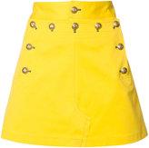 Maison Margiela metallic embellished skirt - women - Cotton/Spandex/Elastane - 40
