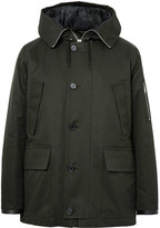 Sandro - Cotton Hooded Parka