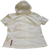 Prada White Cotton Top