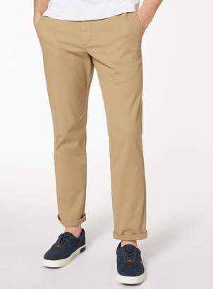 Tu Stone Straight Leg Chinos With Stretch