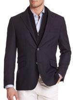 Corneliani Solid Virgin Wool Sportcoat