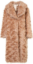 Maison Margiela oversized fur coat