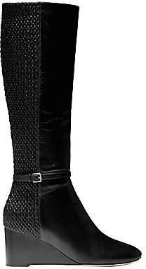 Cole Haan Women's Lauralyn Leather Tall Wedge Boots