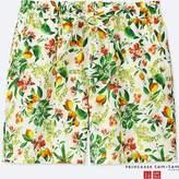 Uniqlo Women's Princesse Tam.tam Botanical Shorts