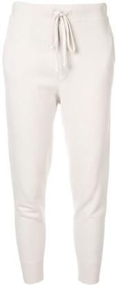 Nili Lotan Cropped Track Pants